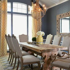 Traditional Dining Room by Sarah Elizabeth Interiors