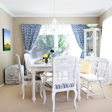 Traditional Dining Room by Found Design