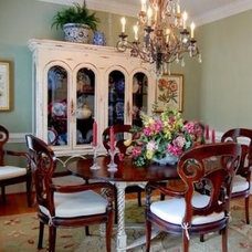 Eclectic Dining Room by Sharon Lake-Gargano