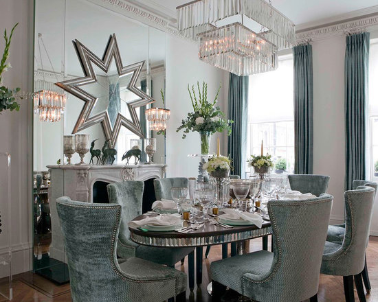 Large Dining Room Mirror Houzz