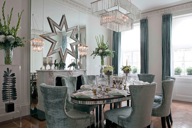 Contemporary Dining Room by Siobhan Loates Interiors