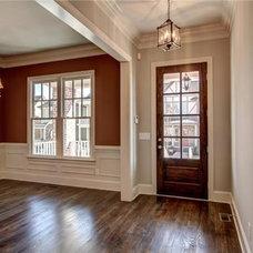 Traditional Dining Room by SLC Homebuilding, LLC