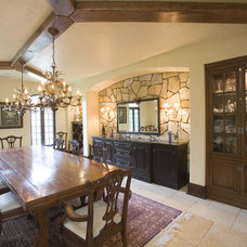 Rustic Dining Room by Cheryl D & Company