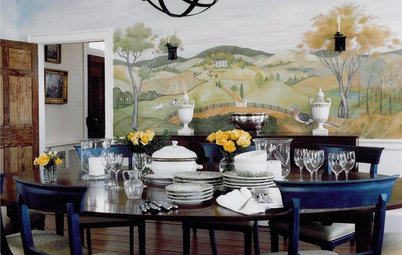 Design Details: 12 Ways With Wall Murals