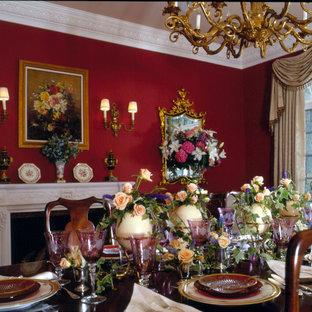 Идея дизайна: столовая в классическом стиле