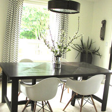 Contemporary Dining Room by Stacie @ Daily Design Elixir