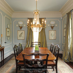 traditional dining room by Stephen Fuller Designs