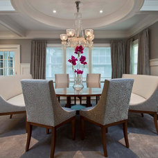 Traditional Dining Room by Steven Mueller Architects, LLC