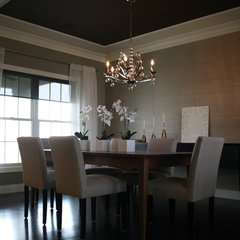 modern dining room by Kimberly Arnold Fletcher
