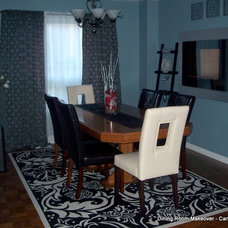 Eclectic Dining Room by Sunlight Staging & Home Decor