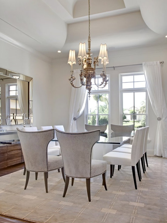 upholstered dining room chairs | houzz
