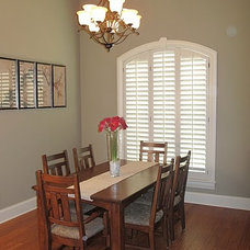 Contemporary Dining Room by Susan Dorroh