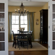 Craftsman Dining Room by Susan Rudd Designs