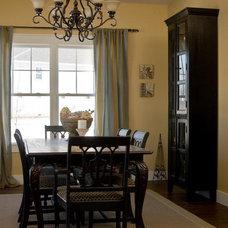 Craftsman Dining Room by Susan Rudd Designs