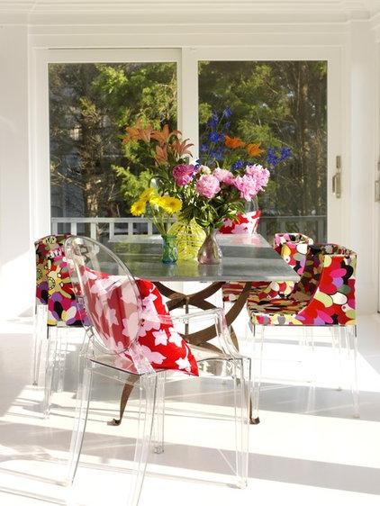 contemporary dining room by Tara Seawright