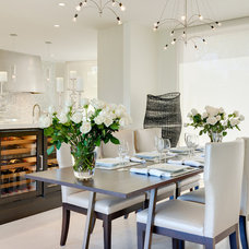 Contemporary Dining Room by Palm Design Group