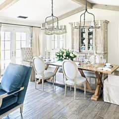 traditional dining room by Palm Design Group