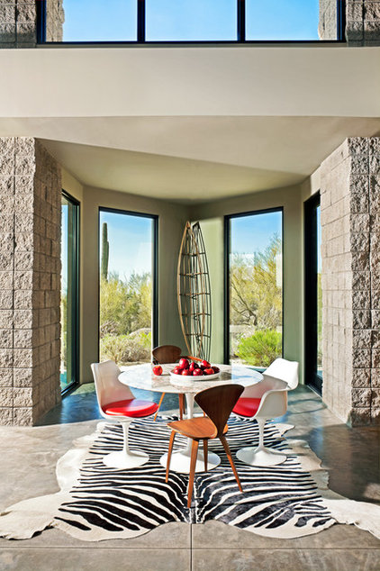 Modern Dining Room by Palm Design Group