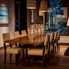 Contemporary Dining Room by THINK architecture Inc.