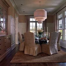 Traditional Dining Room by Tina Barclay