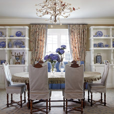 Farmhouse Dining Room by Todd Remington Architect