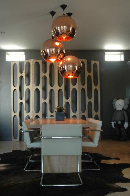 Modern Dining Room by twenty7 design