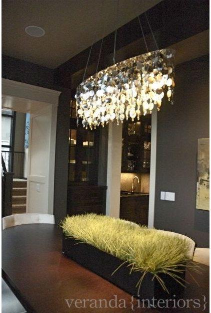 Contemporary Dining Room by Veranda Estate Homes & Interiors