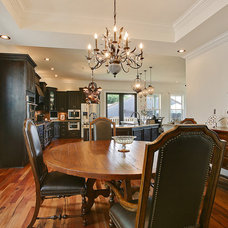 Traditional Dining Room by Vision Investment Group NOLA
