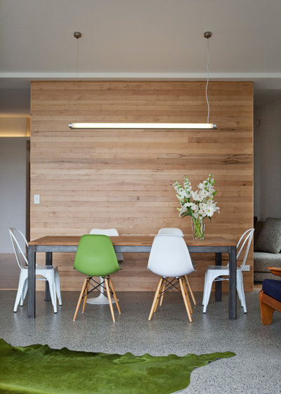 Contemporary Dining Room by Waller Projects