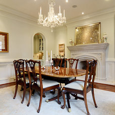 Traditional Dining Room by Wellborn Inc.