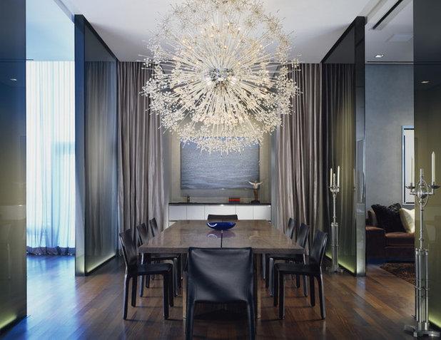 Contemporaneo Sala da Pranzo by Wheeler Kearns Architects