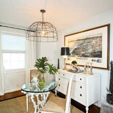 Eclectic Dining Room by Design In A Day