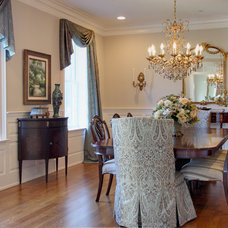 Traditional Dining Room by Nancy O'Hara Interiors