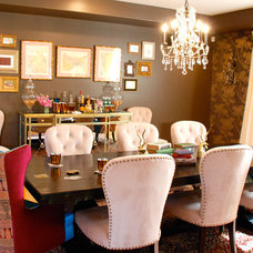 Eclectic Dining Room by Jessica McClendon