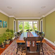 Eclectic Dining Room by Bill Fry Construction - Wm. H. Fry Const. Co.