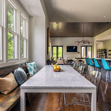 Dining Room with Custom Made Bench