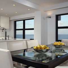 modern dining room by Toby Zack Designs