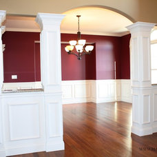 Traditional Dining Room by BJ Armstrong Custom Homes
