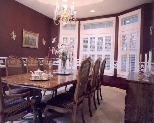 Best purple dining room with red walls design ideas for Dining room ideas with red walls