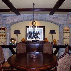 Traditional Dining Room by ADC Omaha