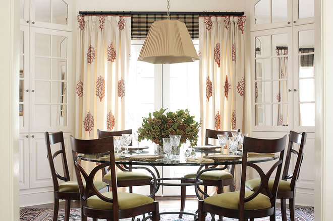 Traditional Dining Room by Alice Cramer Interiors