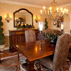 Traditional Dining Room by Details Interiors, LLC