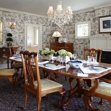 Traditional Dining Room by Houseworks Interiors