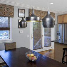 Contemporary Dining Room by Lugbill Designs