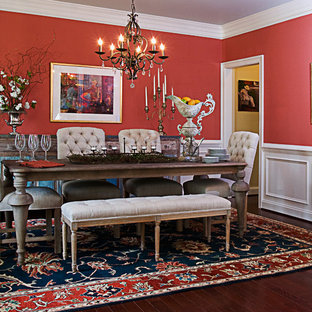 Inspiration for a timeless dining room remodel in Richmond