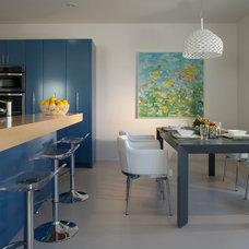 Contemporary Kitchen by Mark Nichols Modern Interiors