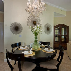 Dining Room by Nicole White Designs Inc
