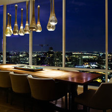 Contemporary Dining Room by Platinum Series by Mark Molthan