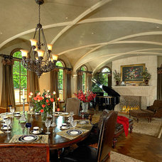 Mediterranean Dining Room by Platinum Series by Mark Molthan