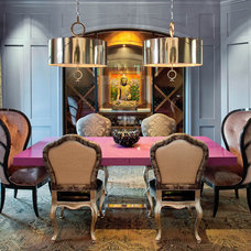 Eclectic Dining Room by Platinum Series by Mark Molthan